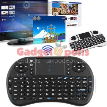 Mini Multi-media 2.4 G Remote Wireless Ελέγχου Touchpad πληκτρολόγιο για PC, Laptop, Android Tv Box