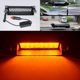 Προειδοποίηση όχηματος έκτακτης ανάγκης strobe Flash Light 8-LED