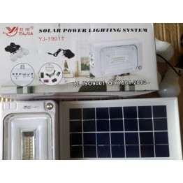 Σύστημα ηλιακής ενέργειας με ενσωματωμένη επαναφορτιζόμενη μπαταρία 2200mAh μολύβδου-οξέος,